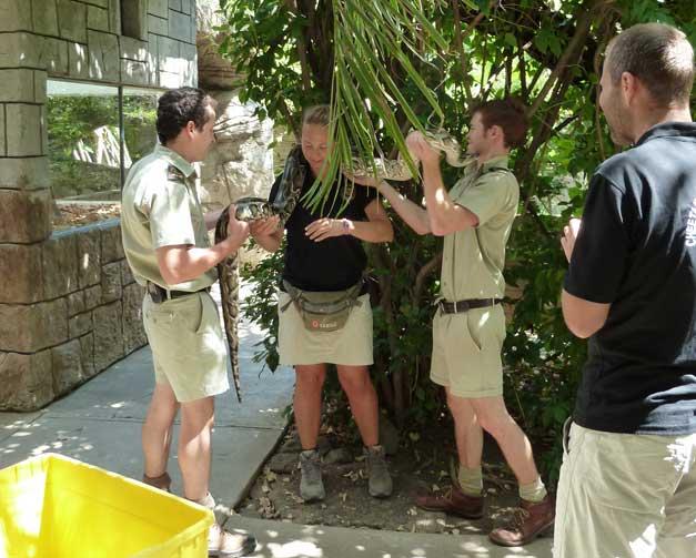 HESC Student Programme -Khamai Reptile Park