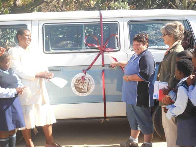 HESC - Minibus donation