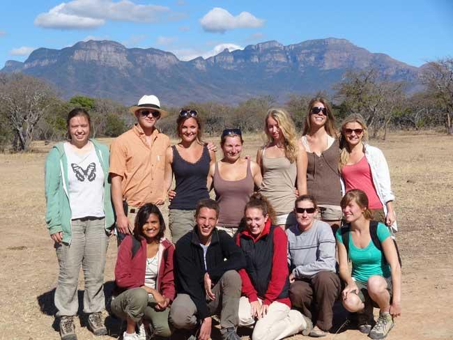 HESC-Students-Drakensburg Mountains