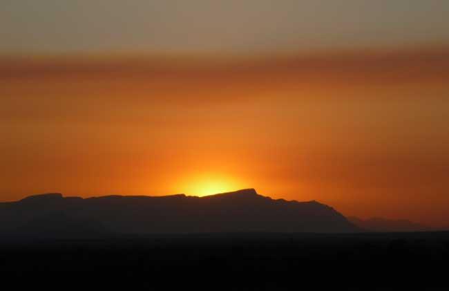 HESC-Sunset on Kapama Nature Reserve