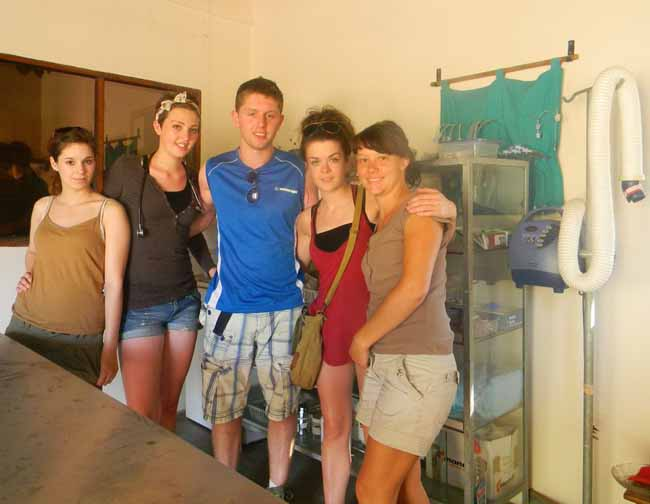 Group A: Samantha King; Louise Blakeley; Ciaran Jones; Sinead Mellet; Shanel Janse v. Rensburg