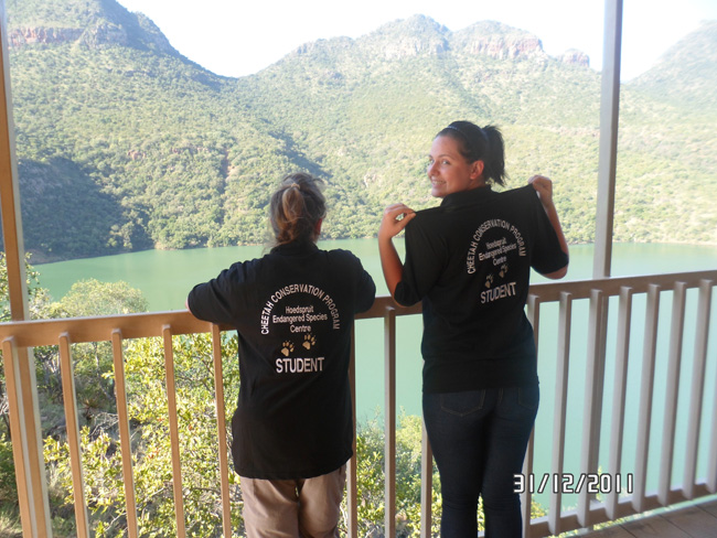 Janesta and Sarah at The Blyde River Canyon