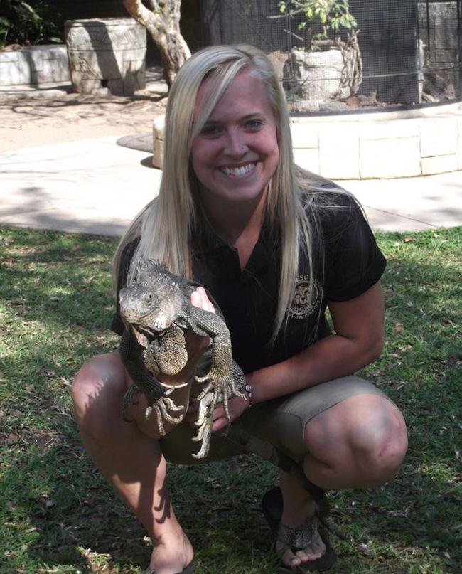 Chelsea at Khamai Reptile Park