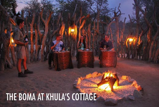 The Boma at Khula's Cottage