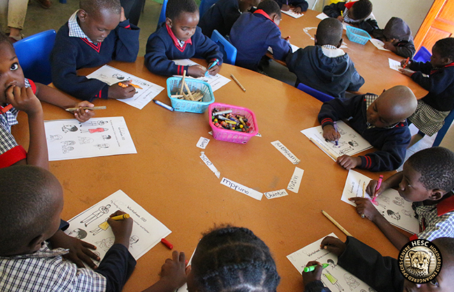 Grade R learners - Lumukisa Primary School