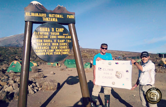 Mount Kilimanjaro - Climb for a cause HESC