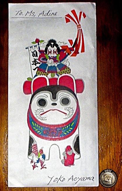 Envelope-momotaro