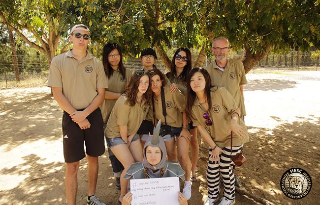 WCE participants visit HH Thiele School