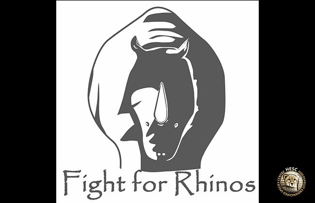 Fight For Rhinos logo - HESC