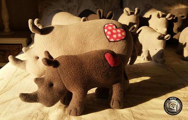 Raising Rhinos - Phoebee & Baylee