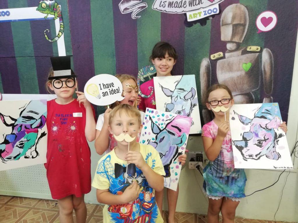 Raising Rhinos and Art Zoo