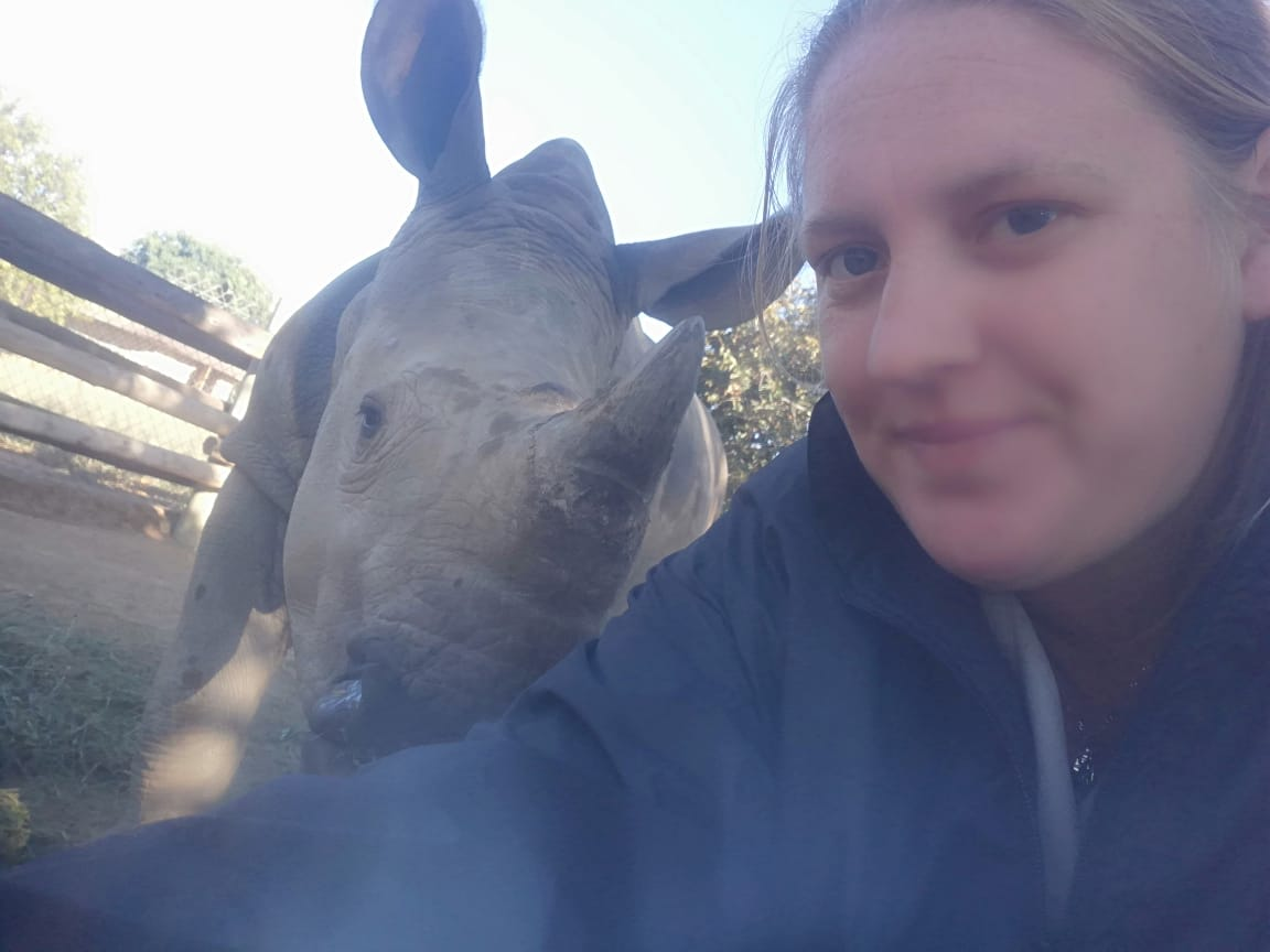 Meet Natasha Roscherr, our Assistant Animal Curator at HESC